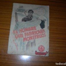 Cinema: EL HOMBRE QUE FABRICABA MONSTRUOS EDITA GRAFIDEA . Lote 165163754