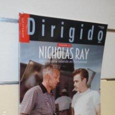 Cine: REVISTA DE CINE DIRIGIDO POR Nº 488 MAYO 2018 NICHOLAS RAY DOSSIER 1. Lote 165532566