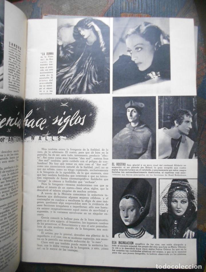 Cine: REVISTAS CÁMARA Y EL CINE CON PORTADA DE GARY COOPER Y MARLENE DIETRICH - JUNIO 1942 - Foto 2 - 165724258