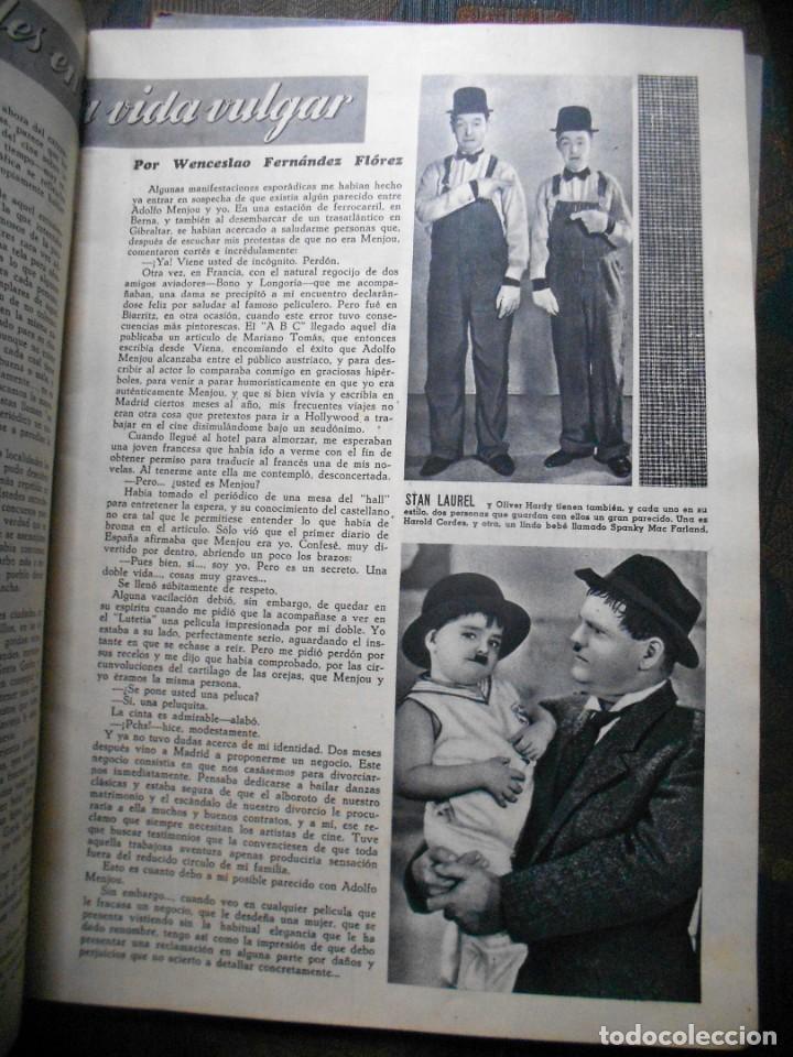 Cine: REVISTAS CÁMARA Y EL CINE CON PORTADA DE GARY COOPER Y MARLENE DIETRICH - JUNIO 1942 - Foto 3 - 165724258