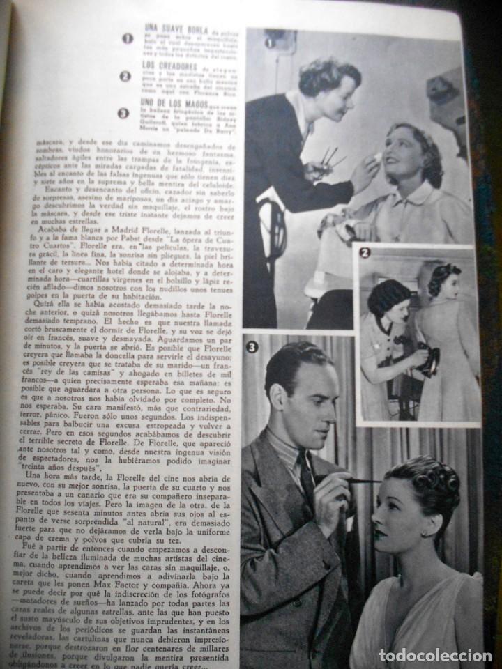 Cine: REVISTAS CÁMARA Y EL CINE CON PORTADA DE GARY COOPER Y MARLENE DIETRICH - JUNIO 1942 - Foto 4 - 165724258
