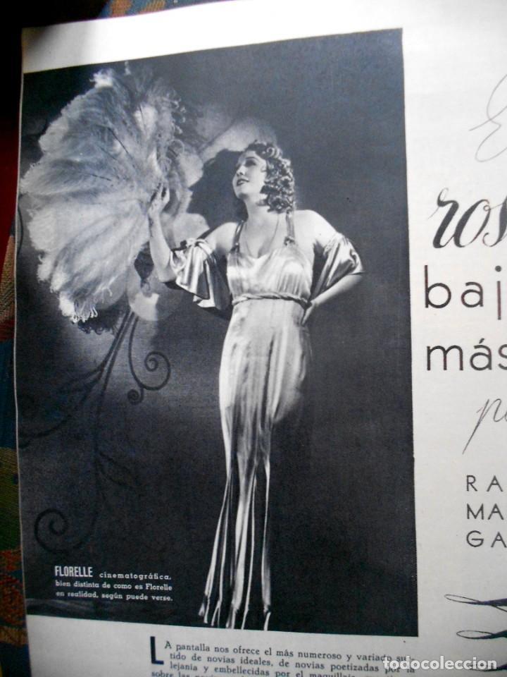 Cine: REVISTAS CÁMARA Y EL CINE CON PORTADA DE GARY COOPER Y MARLENE DIETRICH - JUNIO 1942 - Foto 5 - 165724258