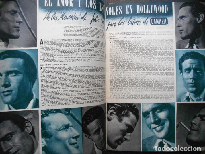 Cine: REVISTAS CÁMARA Y EL CINE CON PORTADA DE GARY COOPER Y MARLENE DIETRICH - JUNIO 1942 - Foto 7 - 165724258