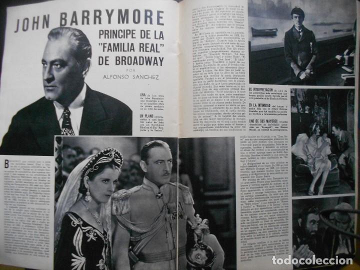 Cine: REVISTAS CÁMARA Y EL CINE CON PORTADA DE GARY COOPER Y MARLENE DIETRICH - JUNIO 1942 - Foto 10 - 165724258