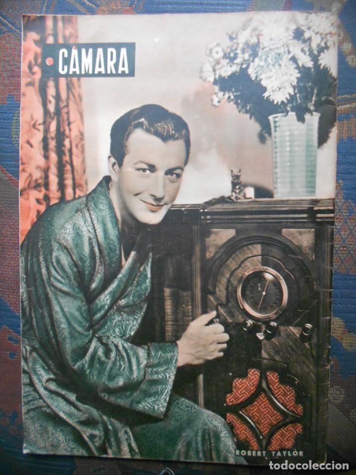 Cine: REVISTAS CÁMARA Y EL CINE CON PORTADA DE GARY COOPER Y MARLENE DIETRICH - JUNIO 1942 - Foto 12 - 165724258