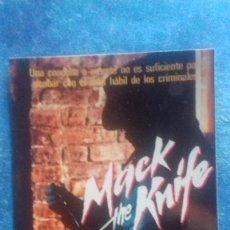 Cine: FOTO CARTEL. MACK THE KNIFE. RAUL JULIA, RICHARD HARRIS, JULIA MIGENES. 150 X 100 MM. PAPEL KODAK.. Lote 165861238