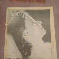 Cine: ABC MARTES 17 DE ABRIL DE 1990 HOMENAJE A GRETA GARBO. Lote 165988197