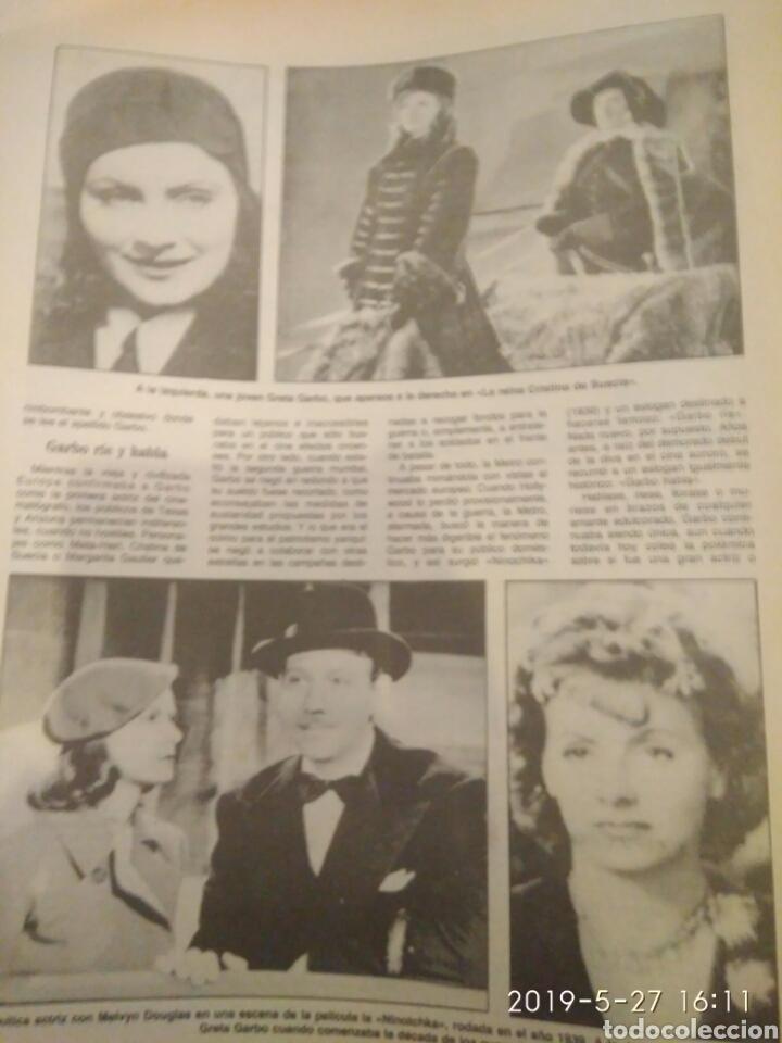 Cine: ABC MARTES 17 DE ABRIL DE 1990 HOMENAJE A GRETA GARBO - Foto 4 - 165988197