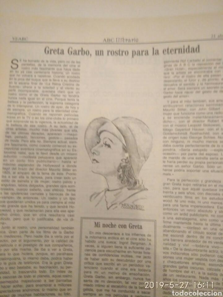 Cine: ABC MARTES 17 DE ABRIL DE 1990 HOMENAJE A GRETA GARBO - Foto 8 - 165988197