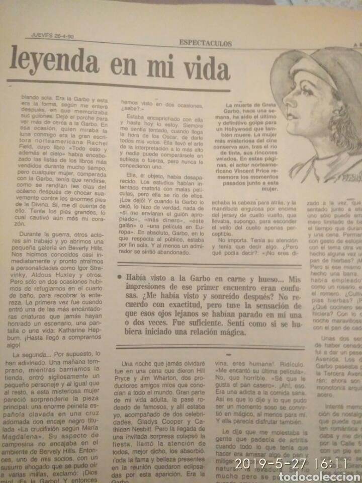 Cine: ABC MARTES 17 DE ABRIL DE 1990 HOMENAJE A GRETA GARBO - Foto 9 - 165988197
