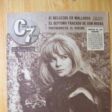 Cinema: CINE EN 7 DIAS - Nº 96 - 9 FEBRERO 1963. Lote 166116670