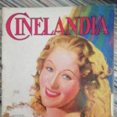 Cine: CINELANDIA, AGOSTO 1936. Lote 166606353