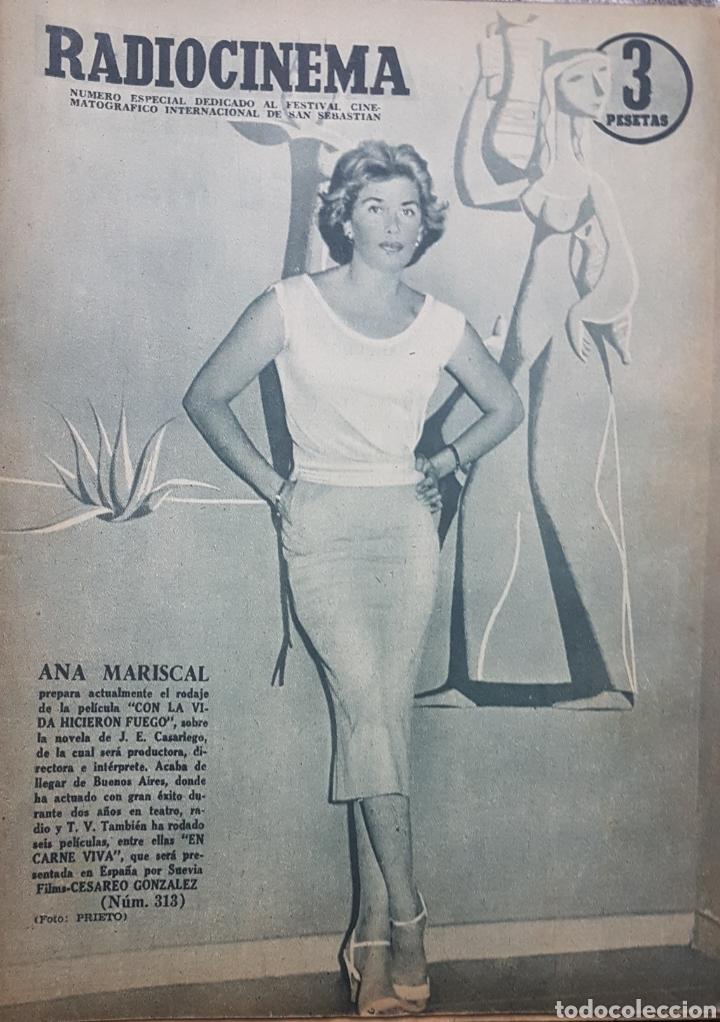 ANA MARISCAL REVISTA RADIOCINEMA N.313 JULIO 1956 (Cine - Revistas - Radiocinema)