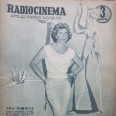 Cine: ANA MARISCAL REVISTA RADIOCINEMA N.313 JULIO 1956. Lote 166643238
