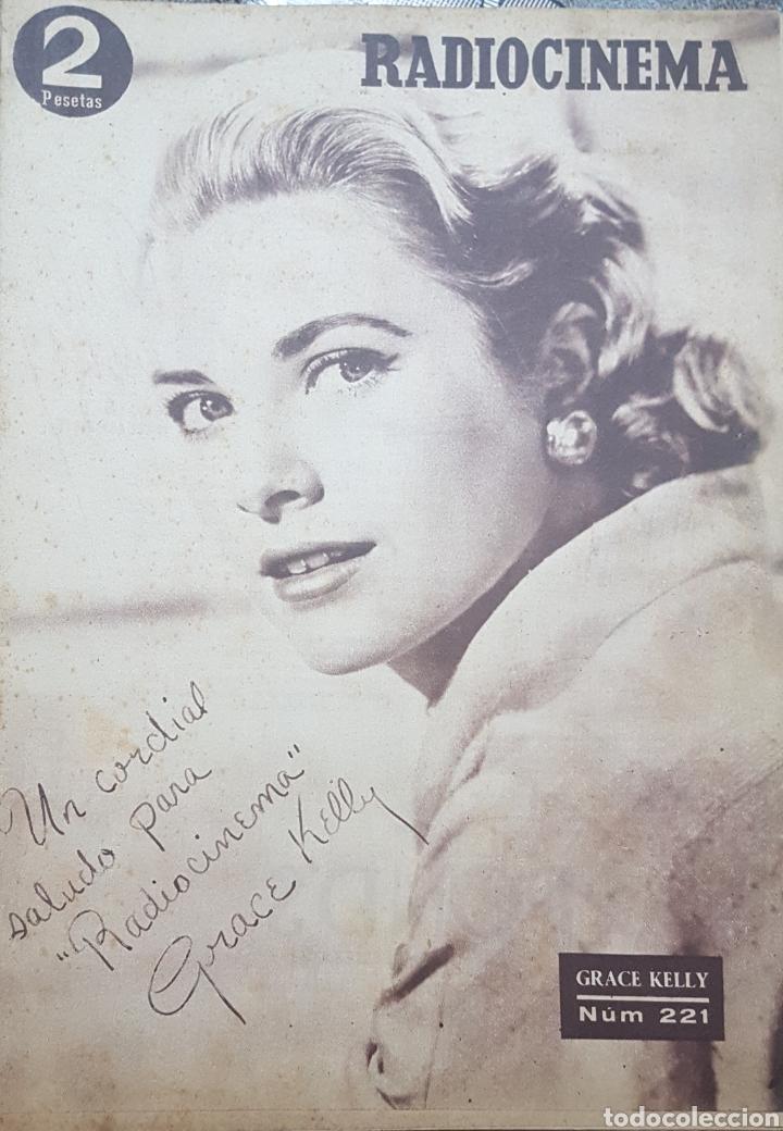 GRACE KELLY REVISTA RADIOCINEMA N. 221 OCTUBRE 1954 (Cine - Revistas - Radiocinema)