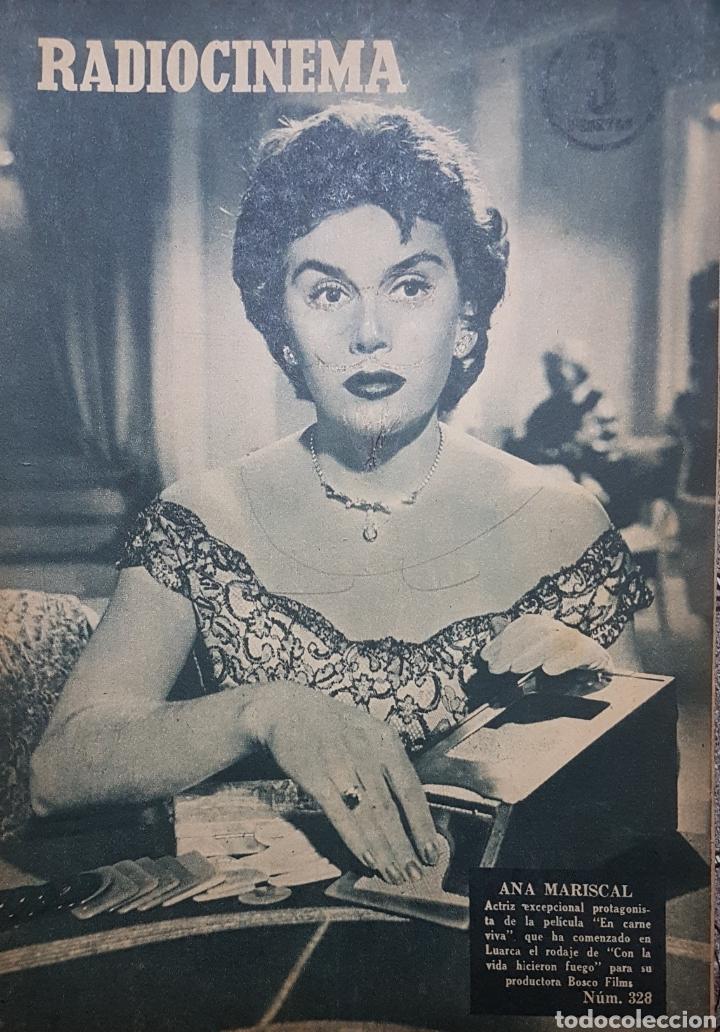 ANA MARISCAL REVISTA RADIOCINEMA N.328NOVIEMBRE 1956 (Cine - Revistas - Radiocinema)