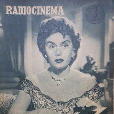 Cine: ANA MARISCAL REVISTA RADIOCINEMA N.328NOVIEMBRE 1956. Lote 166645026