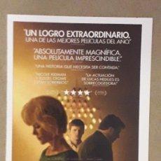 Cine: FICHA COLECCIONABLE, IDENTIDAD BORRADA (BOY ERASED 2018) LUCAS HEDGES, NICOLE KIDMAN. Lote 194897373