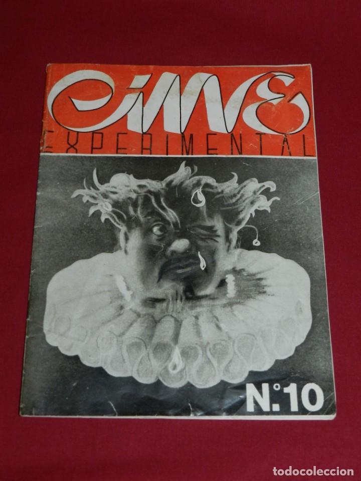 (M) REVISTA CINES EXPERIMENTAL N.10 JULIO 1946 ILUSTRADO, SOMBRAS CHINESCAS, CHARLOT (Cine - Revistas - Otros)