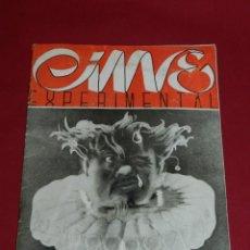 Cine: (M) REVISTA CINES EXPERIMENTAL N.10 JULIO 1946 ILUSTRADO, SOMBRAS CHINESCAS, CHARLOT. Lote 166795574