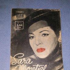 Cine: COLECCION IDOLOS DEL CINE Nº 4 SARA MONTIEL VER FOTO Y DESCRIPCION. Lote 166809134