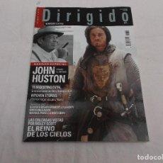 Cine: DIRIGIDO POR... Nº 345. EXTRA. DOSSIER ESPECIAL JOHN HUSTON. EL REINO DE LOS CIELOS, POR RIDLEY SCOT. Lote 186446095