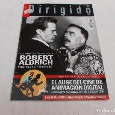 Cine: DIRIGIDO POR... Nº 410: ESPECIAL CINE DE ANIMACION DIGITAL. ROBERT ALDRICH, CINE NEGRO Y WESTERN.. Lote 166889136