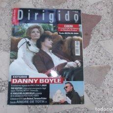 Cine: DIRIGIDO POR Nº 387 ,CHERI,ESTUDIO DANNY BOYLE,Y ANDRE DE TOTH 1 PARTE,THE VISITOR,. Lote 194395125