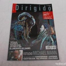 Cine: DIRIGIDO POR... Nº 359: ESTUDIO MICHAEL MANN. EL LABERINTO DEL FAUNO. WORLD TRADE CENTER. LA JOVEN D. Lote 166915772