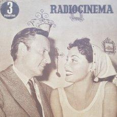 Cine: PAQUITA RICO Y ANGELILLO REVISTA RADIOCINEMA N.225 AÑO 1954. Lote 167257785