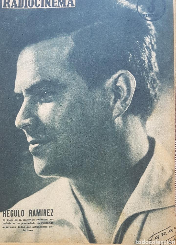 REGULÓ RAMÍREZ REVISTA RADIOCINEMA N. 406 AÑO 1958 (Cine - Revistas - Radiocinema)