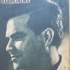 Cine: REGULÓ RAMÍREZ REVISTA RADIOCINEMA N. 406 AÑO 1958. Lote 167260117