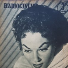 Cine: LYDIA SCOTTY REVISTA RADIOCINEMA N. 201 AÑO 1955. Lote 167265177