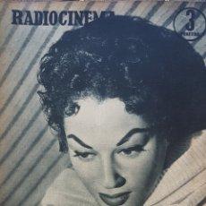 Cine: LYDIA SCOTTY REVISTA RADIOCINEMA N. 201 AÑO 1955. Lote 167265177