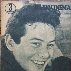Cine: VICENTE PARRA REVISTA RADIOCINEMA N. 353 AÑO 1957. Lote 167267242