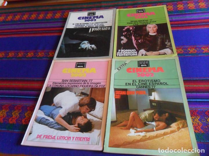CINEMA 2002 29 30 EROTISMO CINE ESPAÑOL 33 SAN SEBASTIÁN 77 35 41-42 EXTRA 51 NOSFERATU SUPERMAN. (Cine - Revistas - Cinema)