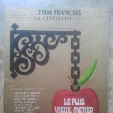 Cine: LE FILM FRANÇAIS - LA CINÉMATOGRAPHIE FRANÇAISE - NºS 1193 / 1194 - ESPECIAL FESTIVAL DE CANNES 1967. Lote 167518724