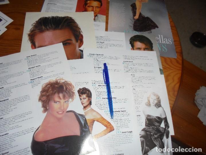 RECORTE : LAS 100 ESTRELLAS MAS SEXYS. CINERAMA, JULIO 1996 (Cine - Revistas - Cinerama)