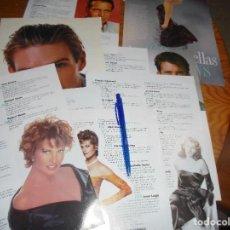 Cine: RECORTE : LAS 100 ESTRELLAS MAS SEXYS. CINERAMA, JULIO 1996. Lote 167598736