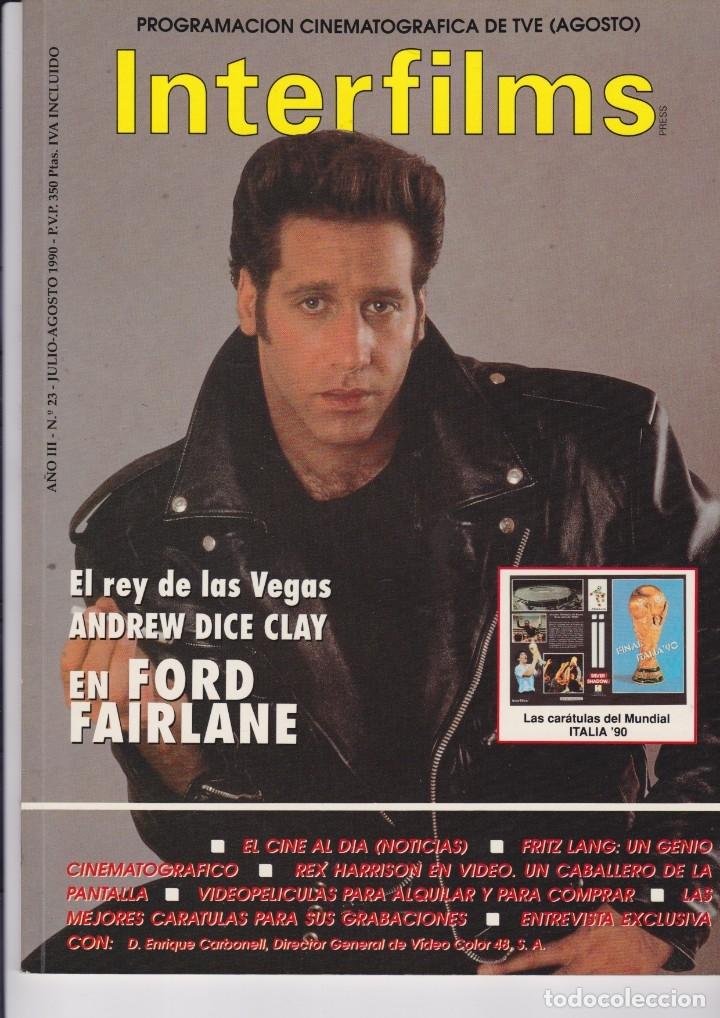 INTERFILMS Nº 23 (Cine - Revistas - Interfilms)