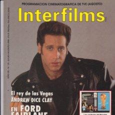 Cine: INTERFILMS Nº 23. Lote 167602140