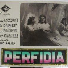 Cine: AFICHE DEL FILM PERFIDIA. Lote 167669225