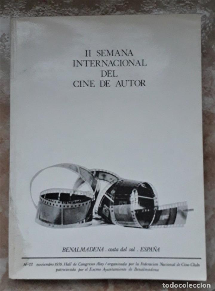 Cine: LOTE CINE SEMANA INTERNACIONAL CINE AUTOR BENALMADENA. THEO ANGELOPOULOS. HISTORIA DEL CINE DANAE. - Foto 2 - 167792940