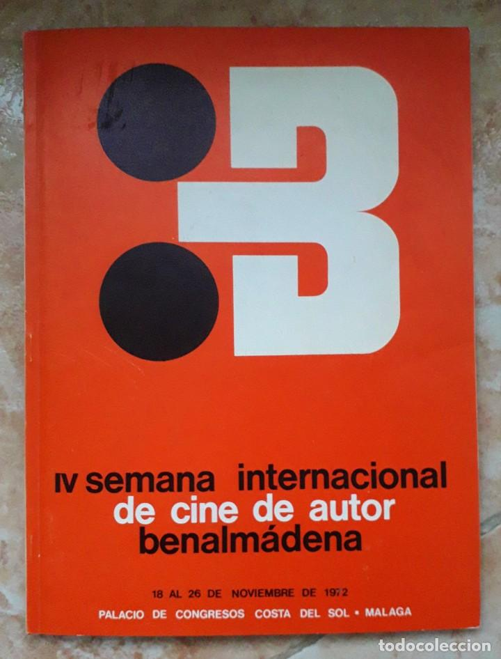 Cine: LOTE CINE SEMANA INTERNACIONAL CINE AUTOR BENALMADENA. THEO ANGELOPOULOS. HISTORIA DEL CINE DANAE. - Foto 3 - 167792940