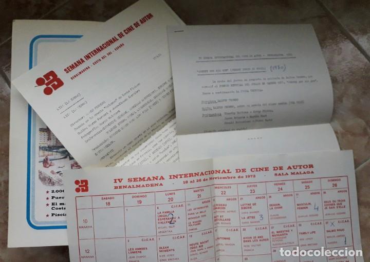 Cine: LOTE CINE SEMANA INTERNACIONAL CINE AUTOR BENALMADENA. THEO ANGELOPOULOS. HISTORIA DEL CINE DANAE. - Foto 4 - 167792940