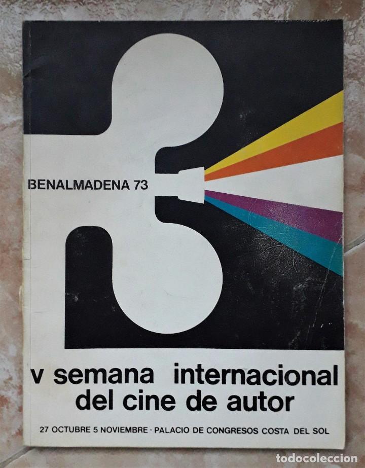 Cine: LOTE CINE SEMANA INTERNACIONAL CINE AUTOR BENALMADENA. THEO ANGELOPOULOS. HISTORIA DEL CINE DANAE. - Foto 5 - 167792940