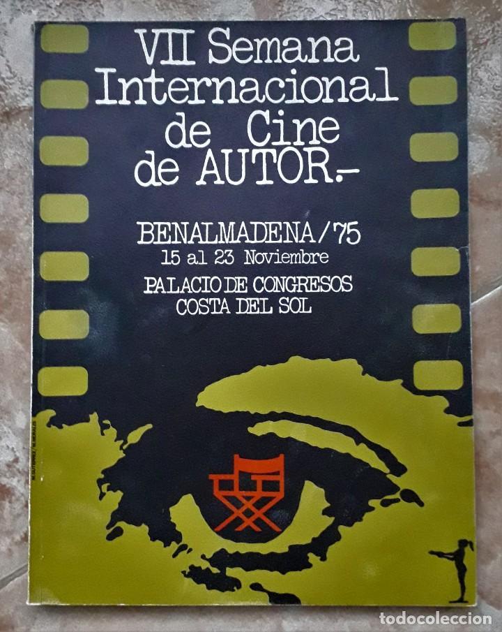 Cine: LOTE CINE SEMANA INTERNACIONAL CINE AUTOR BENALMADENA. THEO ANGELOPOULOS. HISTORIA DEL CINE DANAE. - Foto 7 - 167792940