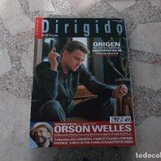 Cinema: DIRIGIDO POR Nº 402, DOSSIER ESPECIAL 2 PARTE ORSON WELLES,ORIGEN,. Lote 266754693