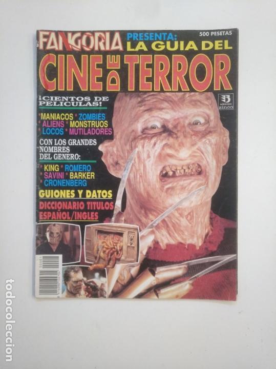 FANGORIA PRESENTA LA GUIA DEL CINE DE TERROR. EDICIONES ZINCO. TDKC40 (Cine - Revistas - Fangoria)
