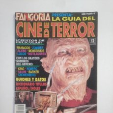 Cine: FANGORIA PRESENTA LA GUIA DEL CINE DE TERROR. EDICIONES ZINCO. TDKC40. Lote 210102025